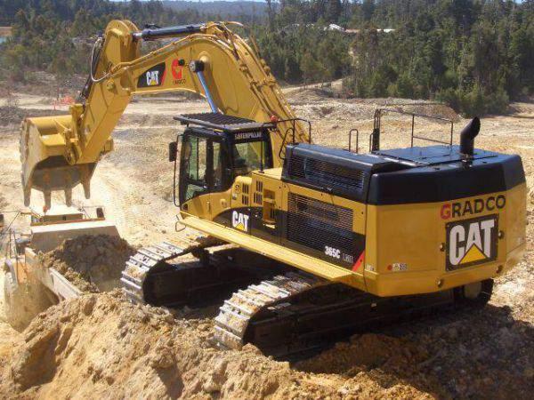 Excavadoras caterpillar en estados unidos
