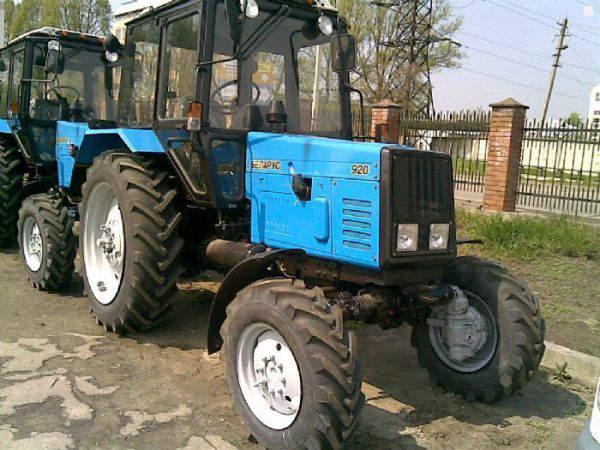 Трактор МТЗ 82 расход топлива и технические характеристики.